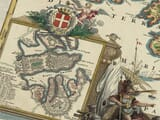 Detail from Old Map Malta