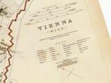 Old Map Vienna Detail 2