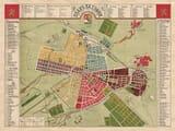 Old Map Sofia
