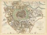 Old Map Vienna