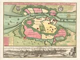 Old Map Copenhagen
