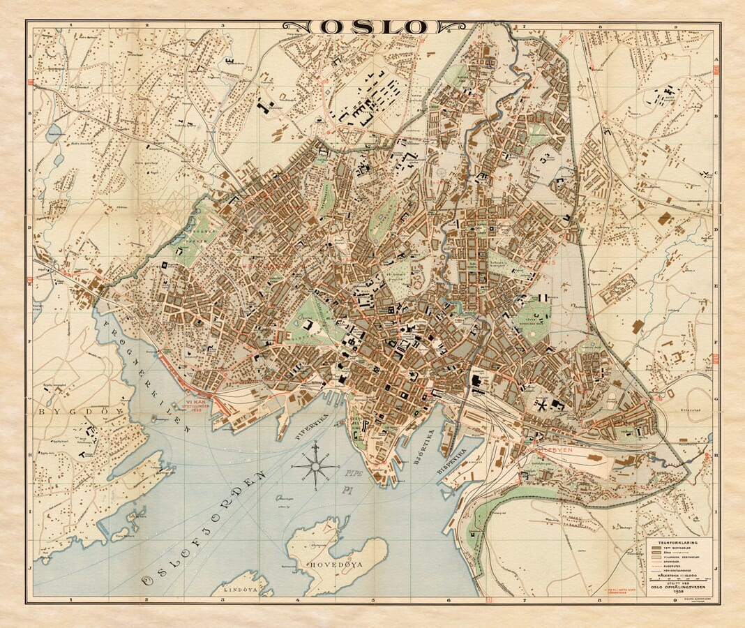 Old Map Oslo