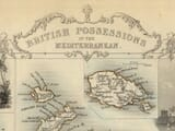 Mediterranean Islands Map