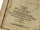 Old Gibralter Map Detail