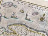 Netherlands groninga old map