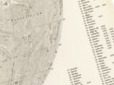 old map of moon detail