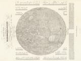 old map of moon