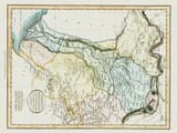 pakistan vintage map