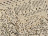 Shaftesbury on old map