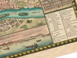 warsaw detail from old map