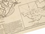 Detail from an old map of Tobago