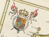 Detail from old map of ulster