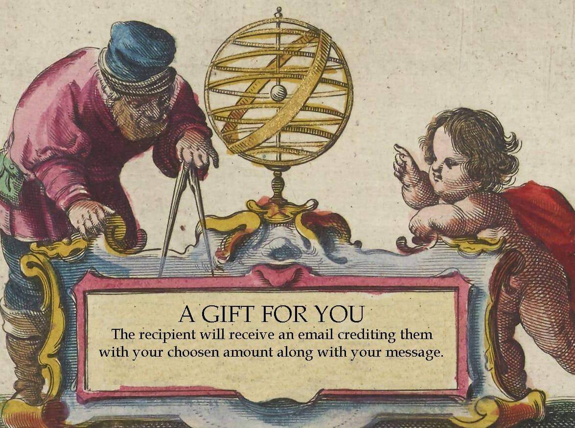 gift voucher for map