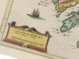 detail from an old map of southern ireland
