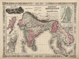 old map india